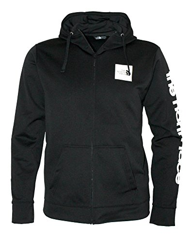 n Full Zip Hoodie Sweatshirt Jacket Black/White (Medium) (Left Chest Logo Pullover Jacket)