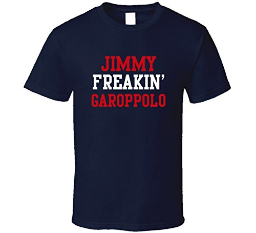 Jimmy Freakin Garoppolo New England Football Player Cool Fan T Shirt Xl Navy