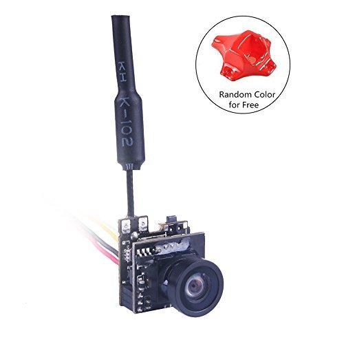 Crazepony FPV Micro AIO Camera 5.8G 40CH 25mW Video Transmitter VTX Switchable Raceband Support OSD FOV 150