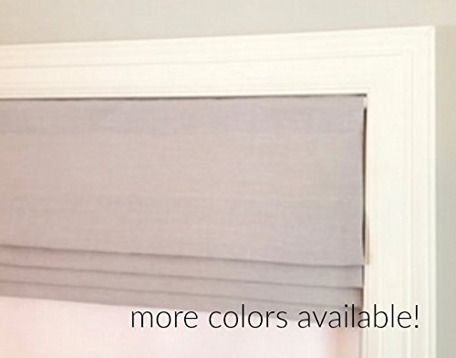 Custom Roman Shade in Solid Color by RCdesigns