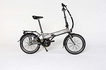 ENIK E-Bike Bicicleta Plegable para Snap-in 20, 20 Pulgadas, 3