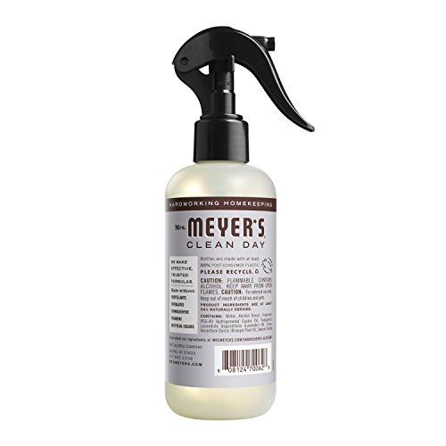 Mrs. Meyer's Clean Day Room Freshener Spray, Instantly Freshens the Air with Lavender Scent, 8 oz