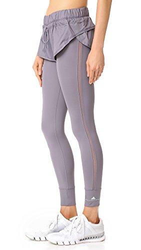 adidas by Stella McCartney Women's Short Tights, Trace Grey, Small