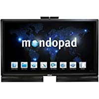 InFocus INF5720 Mondopad All-In-One Desktop 57, 8 GB RAM, 120 GB SSD, Black