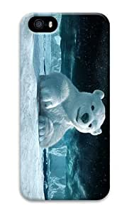 Betty S. Simmons's Shop IMARTCASE iPhone 5S Case, Cute Snow Bear PC Hard Plastic Case for Apple iPhone 5S and iPhone 5 2173900M99031475