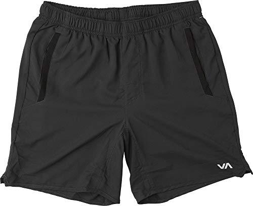 (RVCA VA Yogger III Sports Shorts Black Size XL Workout Leisure)