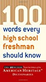 100 Words Every High School Freshman Should Know, , 0618443797