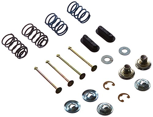 (Wagner H4019 Brake Shoe Hold Down Kit, Front)