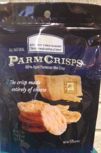 Kitchen Table Bakers Mini Crisps - Aged Parmesan Gourmet Cheese Crisps 1.75 Oz.