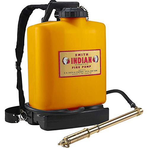 Indian 190191 FER500 Poly Tank Fire Pump, 5-Gallon, Orange