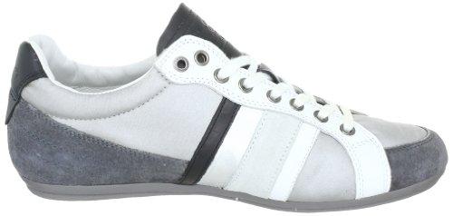 Pepe Jeans London PY-252 A PY-252 A - Zapatillas de cuero para hombre Gris (Grau (Grey/Silver/White))