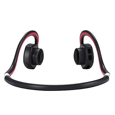 Bone Conduction Bluetooth Headphones Sweat&Water-Proof Over-Ear Wireless Headset with Build-in Microphone Bonein BN-702