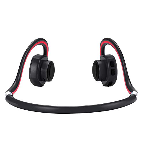 Bone Conduction Bluetooth Headphones Sweat&Water-Proof Over-Ear Wireless Headset with Build-in Microphone Bonein BN-702 (Black)