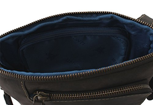 a Oil Bodyin Borsa oleataipad pelle Visconti Cross tracolla Roy 15056 Blue Brown ZkXPiOuT