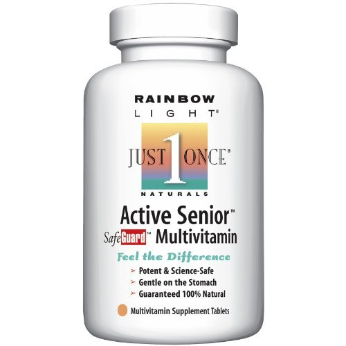 Rainbow Light: Active Adult 50 Multivitamin, 90 tabs (2 Pack) (Best Multivitamin For Men Over 70)