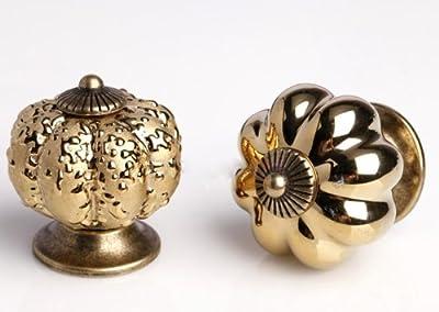 BESTIM PRACTICAL Ceramic Handle Pull Knobs Cabinet Pumpkin Door Cupboard Drawer Locker