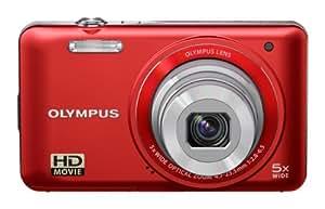 Olympus Vg-130 - cámara digital - compacta - 14.0 mpix - zoom óptico: 5 x - memoria soportada: sd, sdhc - rojo