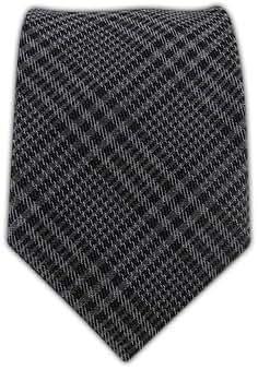 Gray Wool Glen Plaid 3