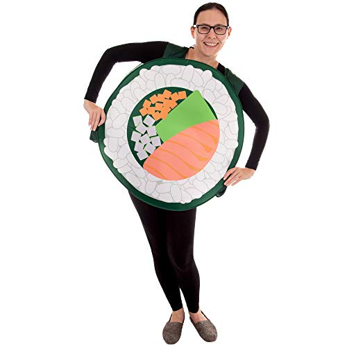 Boo Inc. Sushi Roll Halloween Costume | Adult Unisex One-Size Funny Food -