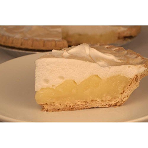 Foxtail Foods Thaw and Serve No Sugar Added Lemon Cream and Meringue Pie, 41 Ounce -- 4 per case.