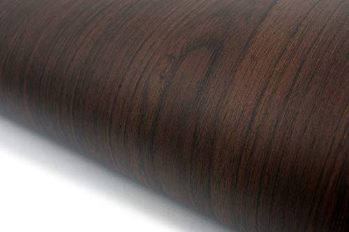 (Wood Pattern Texture Interior Film Vinyl Self Adhesive Peel-Stick Removable (VBS870))