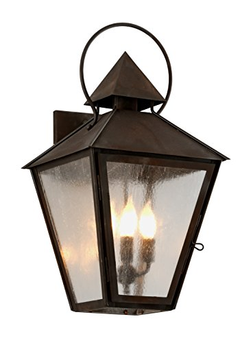 Troy Lighting B6583NR Allston Outdoor Wall Sconce, Natural Rust (Natural Rust Troy Lighting)