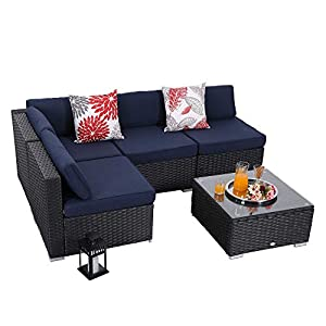 415HX2VYHfL._SS300_ Wicker Patio Furniture Sets