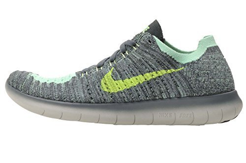 online store da930 00fbc Galleon - Nike Kids Free RN Flyknit GS, Hasta   Ghost Green - Seaweed, Youth  Size 6.5