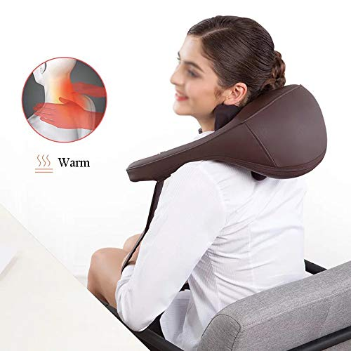 GAOQQ Shiatsu Back Neck and Shoulder Massager - Cervical Spine Kneading Multi-Function Legs/Foots Massager for Office Home Car Use by GAOQQ (Image #6)