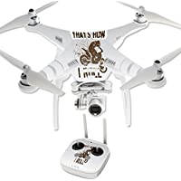 Skin For DJI Phantom 3 Professional – Motocross | MightySkins Protective, Durable, and Unique Vinyl Decal wrap cover | Easy To Apply, Remove, and Change Styles | Made in the USA