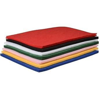 Chenille Kraft CKC3904 One Pound Felt Sheet Pack, kindergarten Grade to 3 Grade