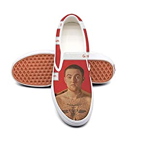 Dolorexri Watching-Movies-with-The-Sound-Off Womens Canvas Slip-on Fashion Sneaker Skate Shoe