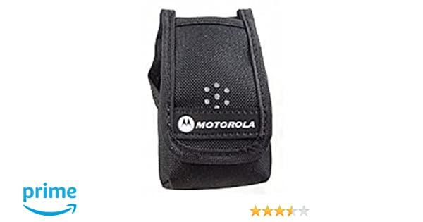 Plain RLN5699A RLN5699 Motorola Minitor V Nylon Case with belt loop
