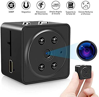 VicTsing - Microcámaras espía, 1080P Full HD Spy, cámara Oculta ...