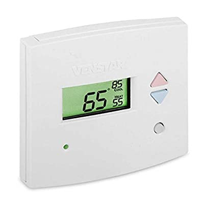 Venstar T2900 Commercial Platinum Slimline Light-Activated Thermostat by Venstar