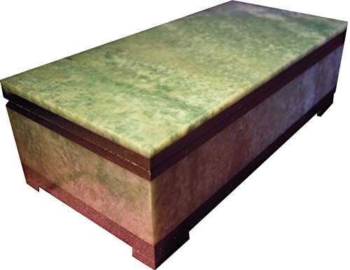 - Decorative Jewelry Stone box Natural and Rare Stone Casket Jade Trinket storage Handmade collectibles, desktop Chest Gift vintage holder rings coins keepsakes gold Christmas