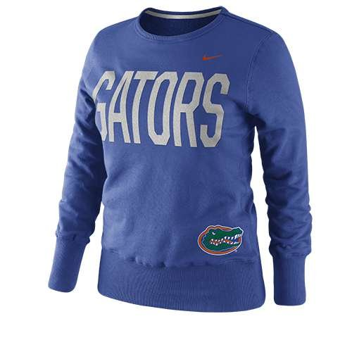 - Florida Gators Women's Classic Fleece Crew Sweatshirt - Junior Women - L (12-14)