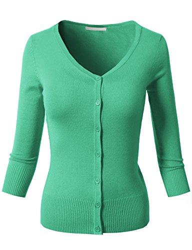 H2H Womens Sleeve Cardigan Sweater