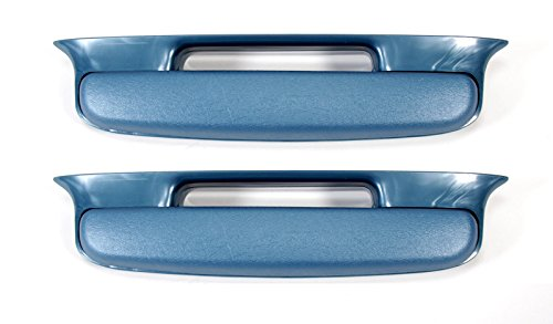Mutton Hollow Chevys 57 Chevy Bel Air Armrest Blue Pair