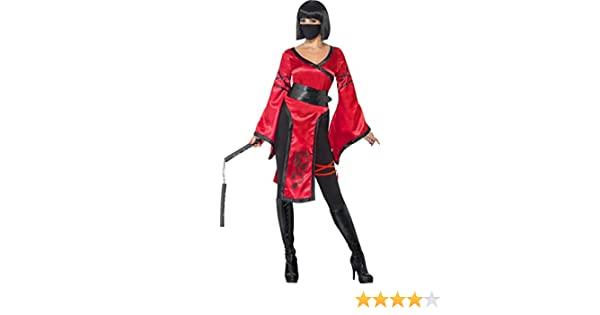 Disfraz guerrero ninja mujer S