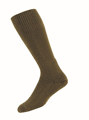 Thorlos Unisex MCB Combat Thick Padded  Sock, Coyote Brown, Large (Best Combat Boot Socks)
