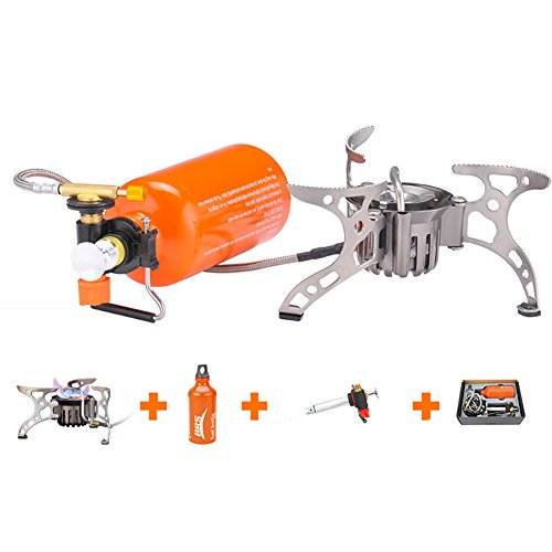BRS Outdoor Kerosene Stove Burners Portable Oil Stove Gas Stove Multi Fuel Stoves Camping Cooking Stove ()