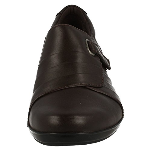 CLARKS Clarks Womens Shoe Everlay Luna Black Leather