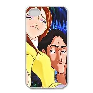 iphone4 4s Phone Case White Tarzan Jane Porter VF6617515