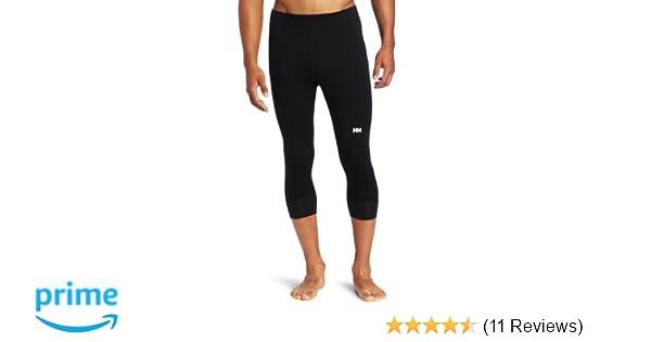 8701455a5 Amazon.com: Helly Hansen Men's Warm 3/4 Pant, Black, XX-Large: Sports &  Outdoors