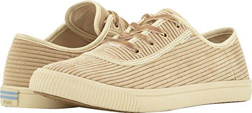 TOMS Women's Carmel Sneaker, Oxford Tan Corduroy, 6 M US