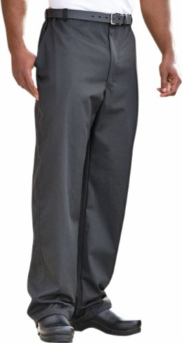 Uncommon Threads 4020 Adult's Executive Chef Pant Black Large by Uncommon Threads
