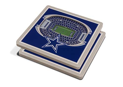 NFL Dallas Cowboys 3D StadiumViews Coasters