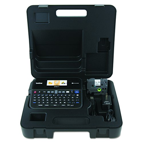 Brother P-touch PTD600VP PC Connectible Label Maker with (Pc Labelers)