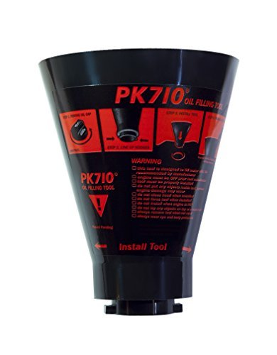 -  PK 710 Oil Filler Funnel, Anti Spiller,Compatible with: Volkswagen, Audi, BMW, Mercedes Benz
